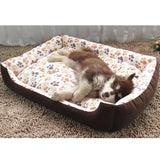 Corduroy Padded Waterproof Washable Mat Soft Sofa Kennel Dog bed