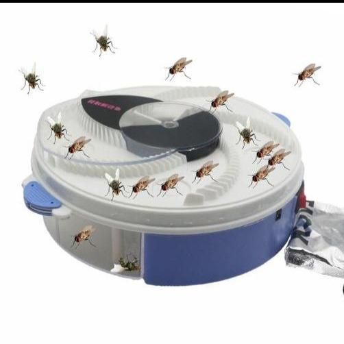 Electric fly trap: Noiseless solution without dangerous chemicals - mechanical and catches the flies easily - Michael Far - Deals on Products for All