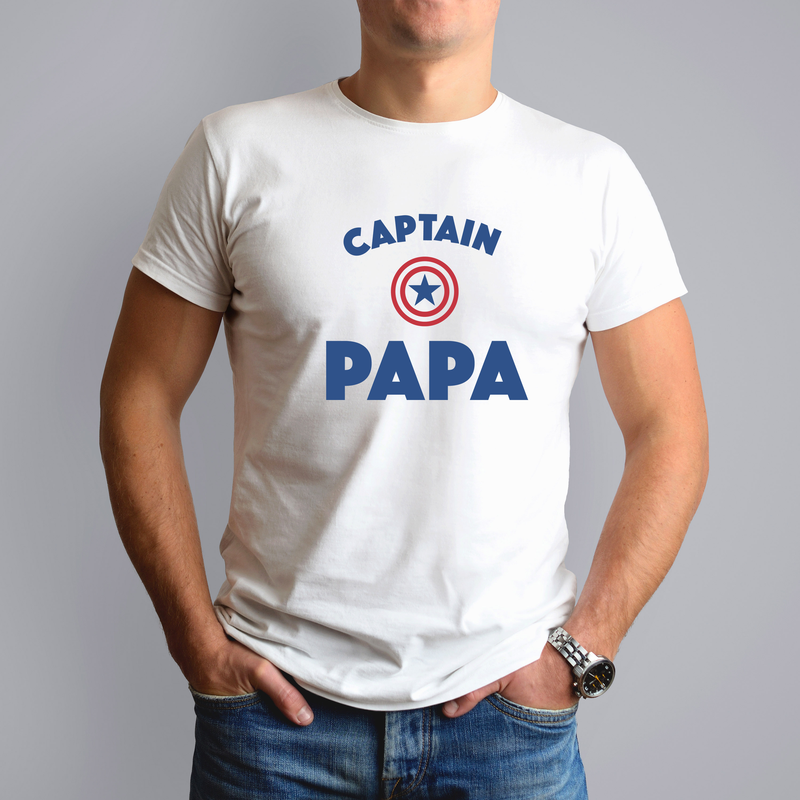 Captain Papa - T-shirt Homme
