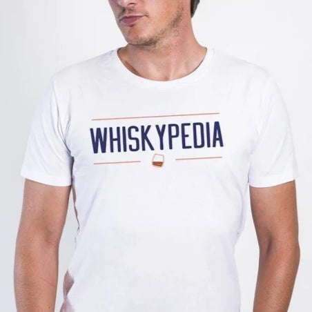 Whiskypedia - T-shirt Homme