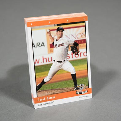 2011 Erie SeaWolves Team Set