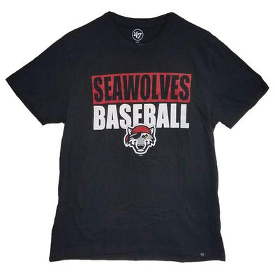 Erie SeaWolves '47 Blockout Tee