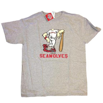 Erie SeaWolves Youth Grey Bobblehead Tee