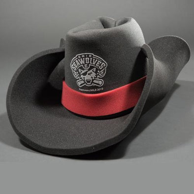 Erie SeaWolves Foam Cowboy Hat - Black