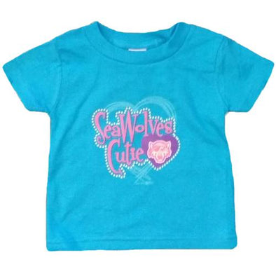 Erie SeaWolves Infant Turquoise Braid Tee