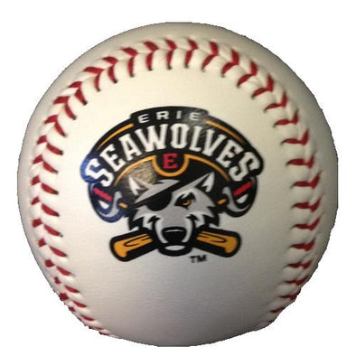 Erie SeaWolves Logo Ball