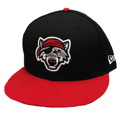 Erie SeaWolves Alternate Black New Era Cap