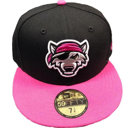 Erie SeaWolves Pink Home Fitted Hat