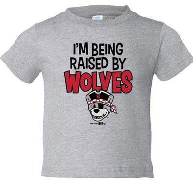 Erie SeaWolves BR Infant Raised by Wolves Tee