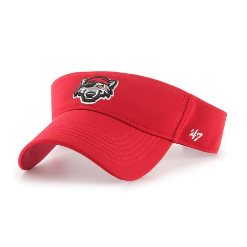 Erie SeaWolves Red Defiance Visor