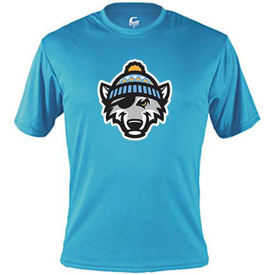 Erie SeaWolves Erie SnowWolves Badger Dri Tee