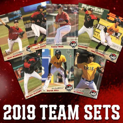 2019 Erie SeaWolves Team Set