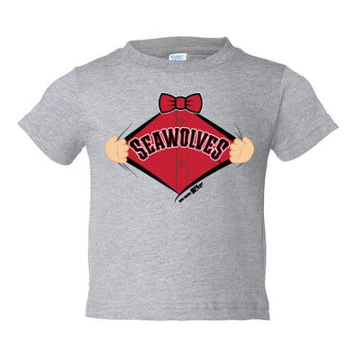 Erie SeaWolves BR Infant Call Up Grey Tee