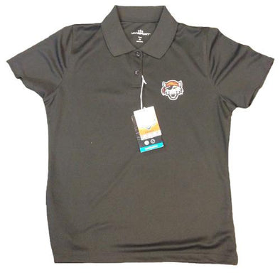 Erie SeaWolves Women's Black Polo