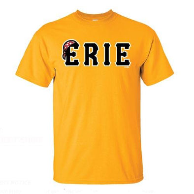 Erie SeaWolves Yellow Jersey Tee