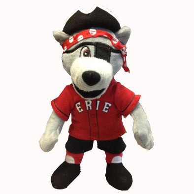 Erie SeaWolves C. Wolf Mascot Plush