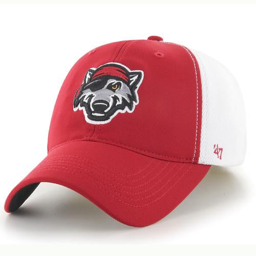 Erie SeaWolves Red/White Erie SeaWolves Draft Day Hat