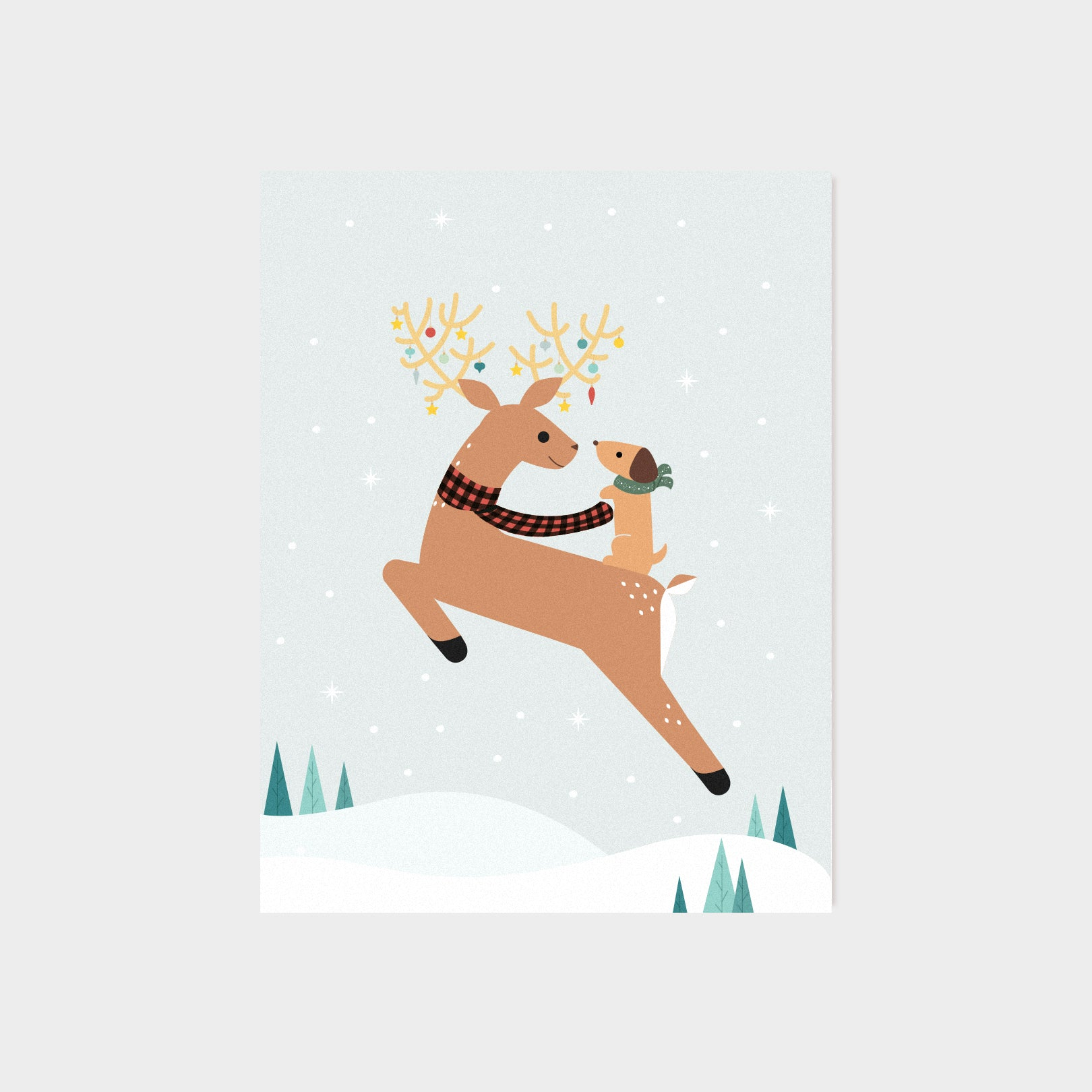 Reindeer Friend Card