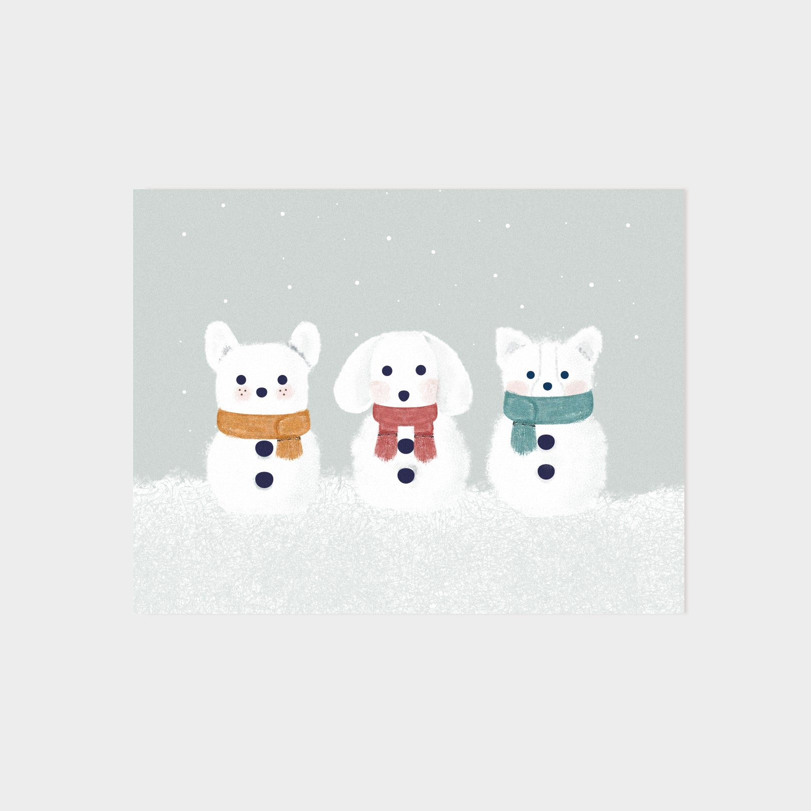 Snow Dogs Card