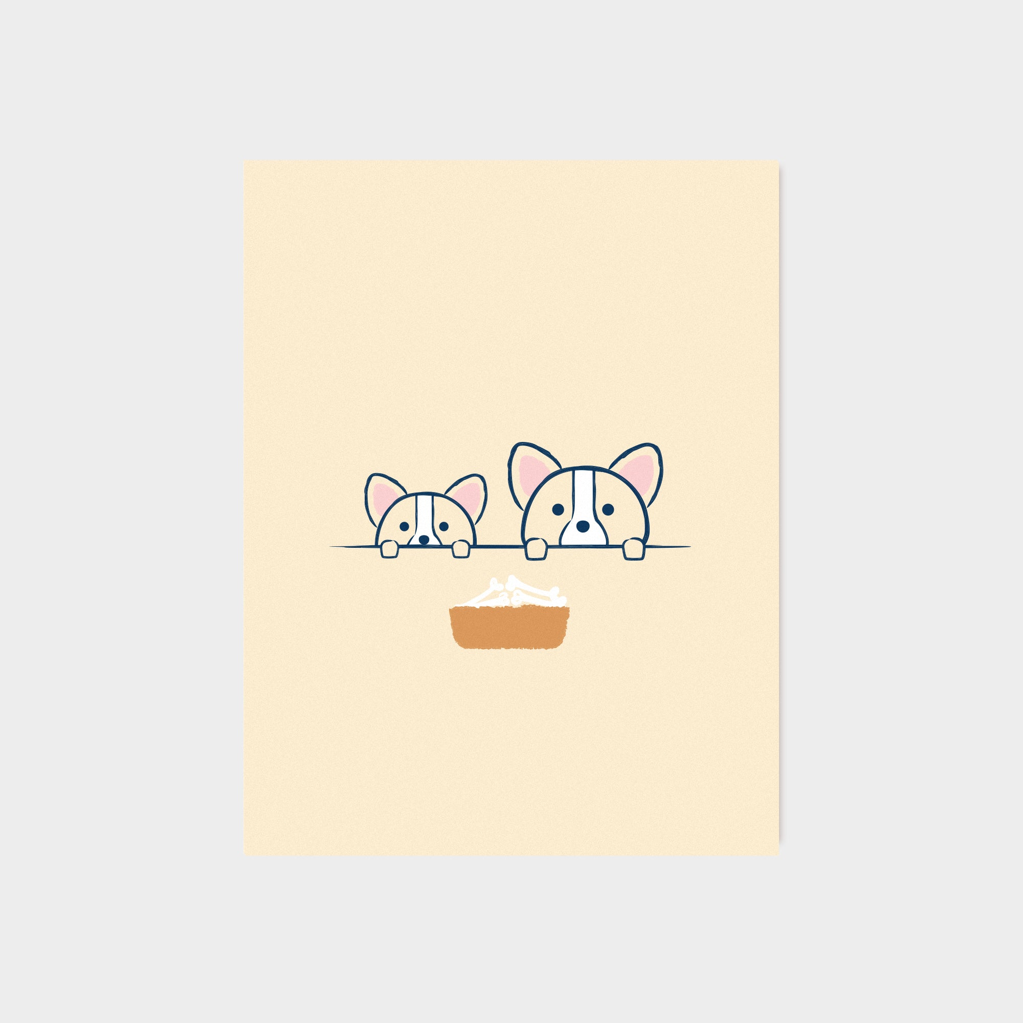 Treat Bowl Card
