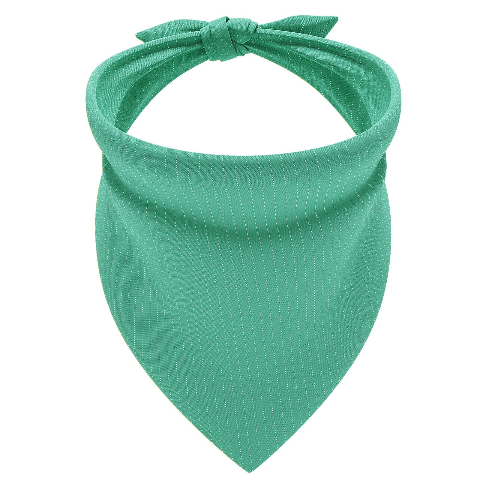 Pinstripe Green Dog Bandana