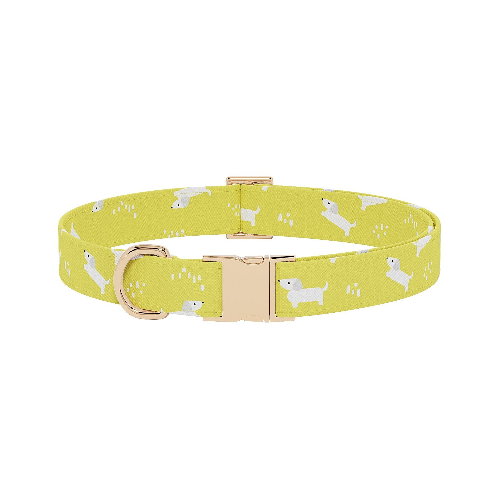 Dachsie Buttercup Dog Collar