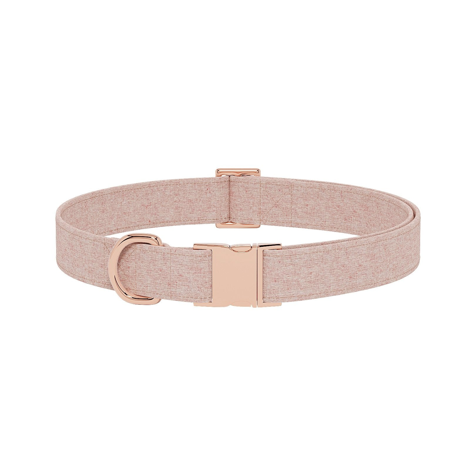 Linen Berry Dog Collar