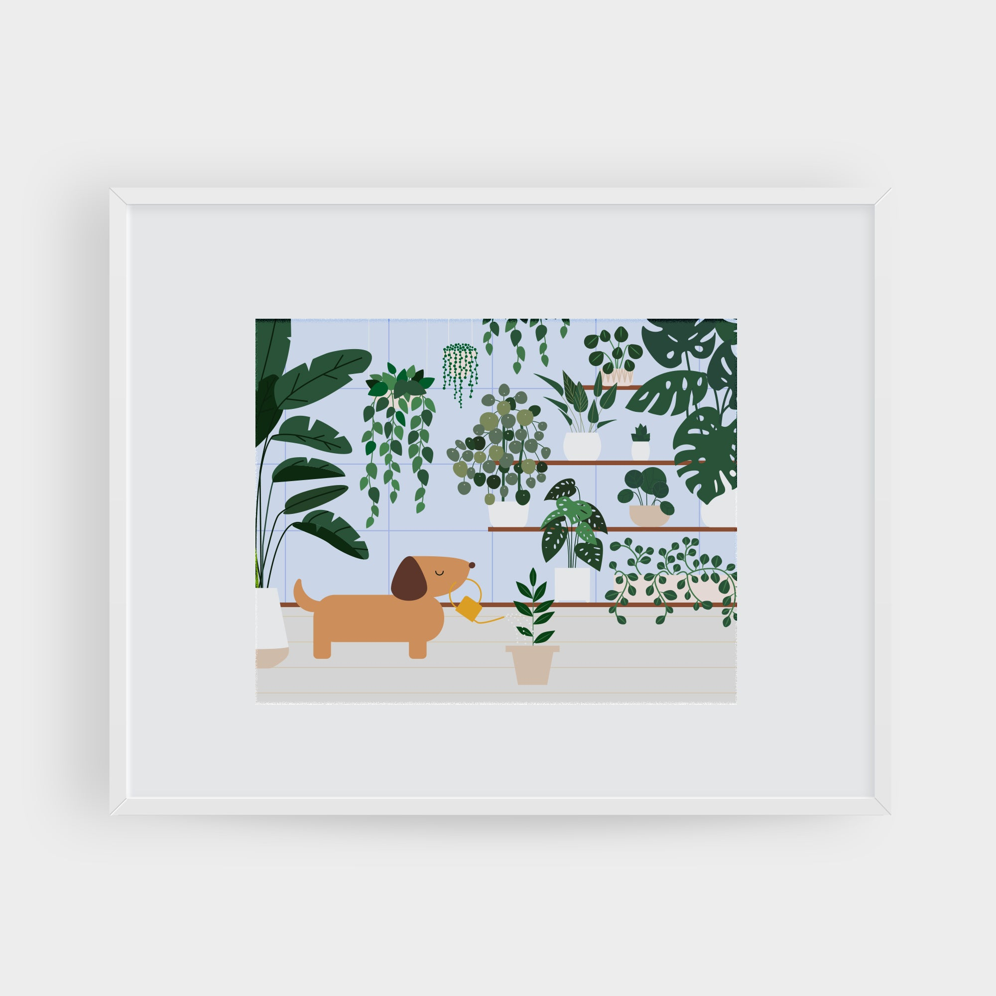 Indoor Gardening Art Print