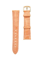 ALLIGATOR STRAP - PALE SALMON