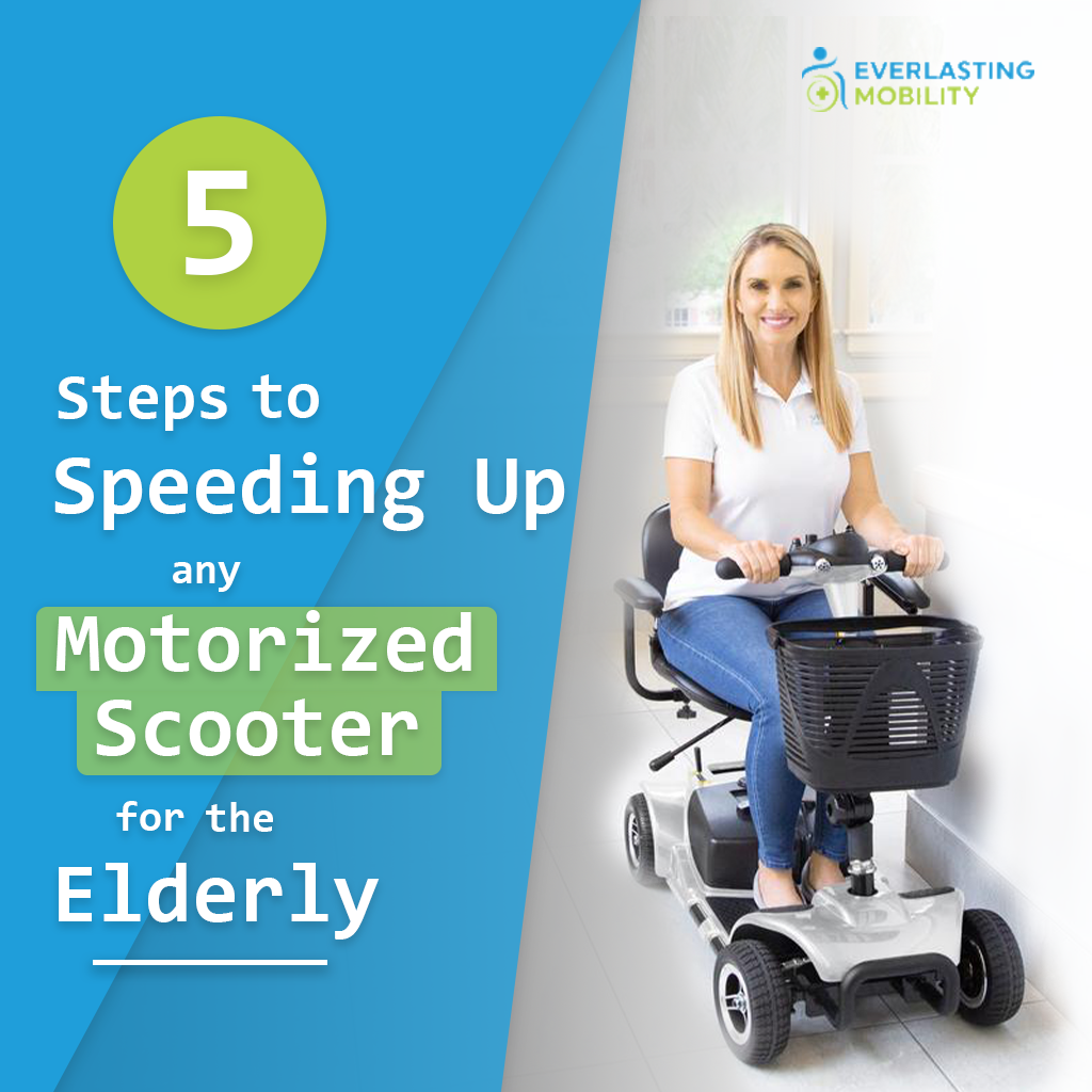 5 steps to speeding up any motorized scooter for the elderly