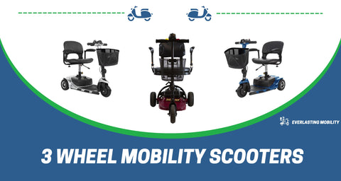 3 wheel mobility scooters - collection image