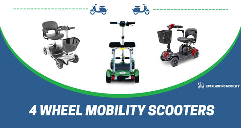 4 wheel mobility scooters