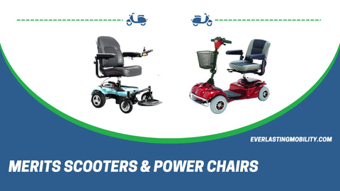 Merits Scooters and Power wheelchairs