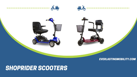 Shoprider Scooters and Power Wheelchairs