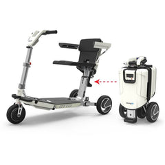 3 wheel mobility scooters - atto folding mobility scooter