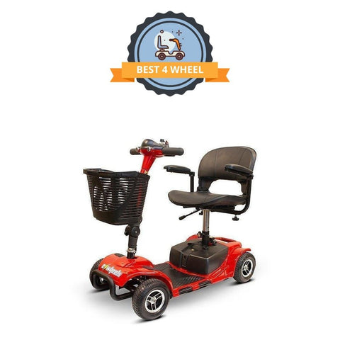 best 4 wheel mobility scooter - EWheels EW M34 portable travel scooter