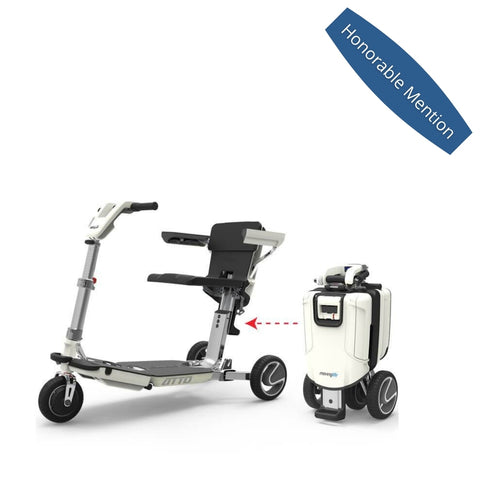 best 3 wheel mobility scooters - atto mobility scooter