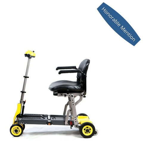 best travel mobility scooter - honorable mention - Merits Yoga