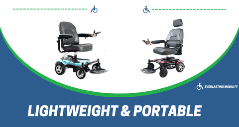lightweight electric wheelchairs