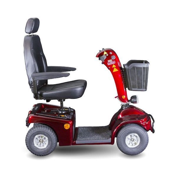 Shoprider-Sprinter-XL-4-Wheel-Scooter-red-right-side-view
