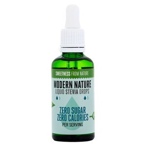 Modern Nature Stevia Drops Natural 50ml