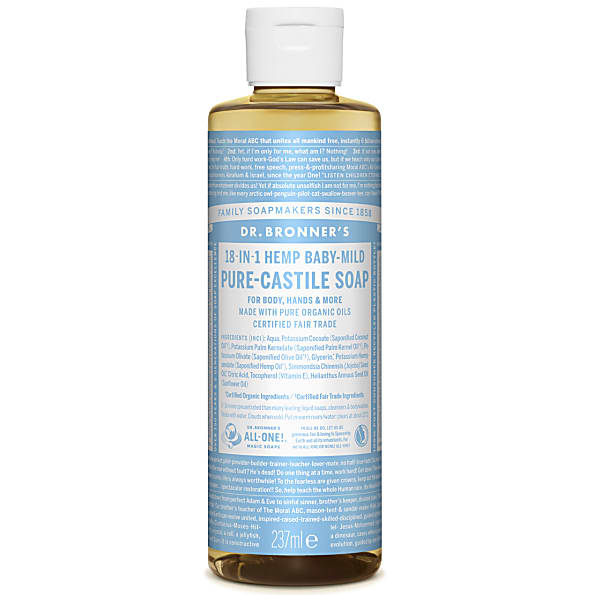 Dr Bronner Baby-Mild Unscented Soap 237ml