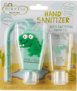 Load image into Gallery viewer, Jack n' Jill Children's Hand Sanitiser (29mlx2)