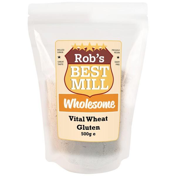 Robs Best Mill Vital Wheat Gluten 500g