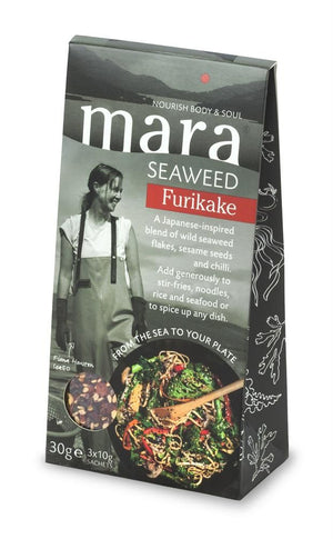 Load image into Gallery viewer, Mara Seaweed Furikake Pouch 30g
