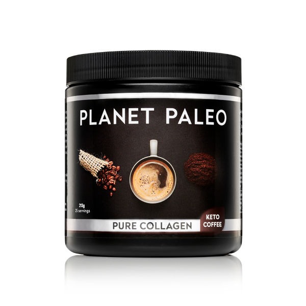 Load image into Gallery viewer, Planet Paleo Collagen Keto Coffee 213g