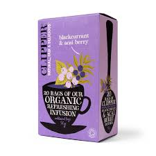 Clipper Organic Blackcurrant & Acai Tea