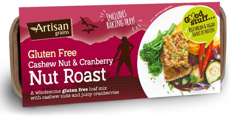Artisan Grains Cashew & Cranberry Nut Roast 200g