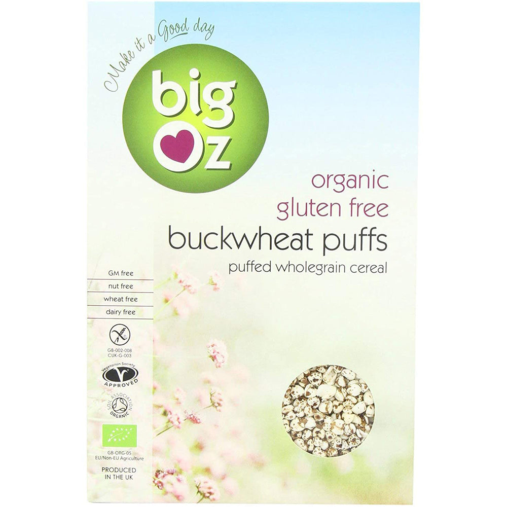 Big Oz Buckwheat Puffs 175g
