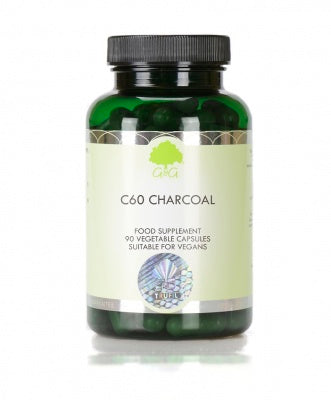 Load image into Gallery viewer, G&G C60 Pure Hardwood Charcoal - 90 Capsules